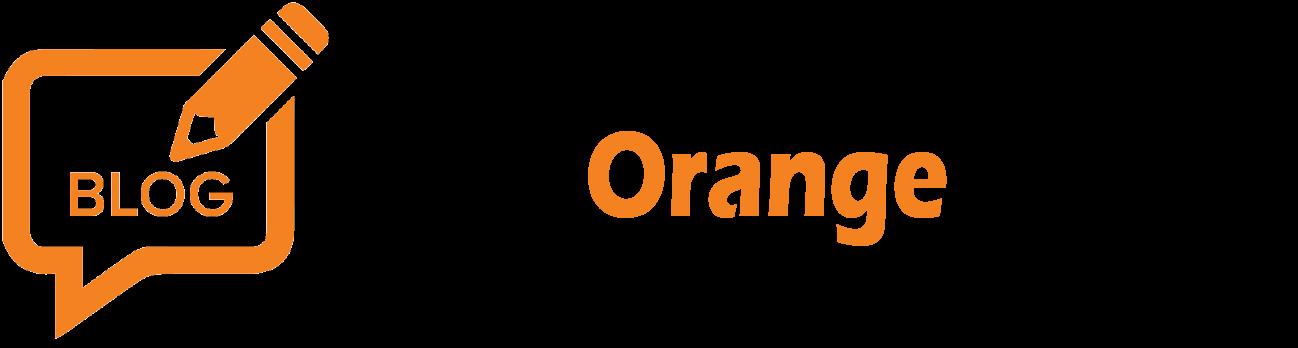 Blog Orange Design